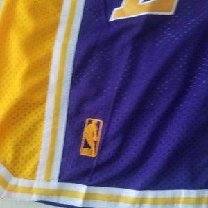 Just Don Shorts NBA Basketball LA Lakers Shorts